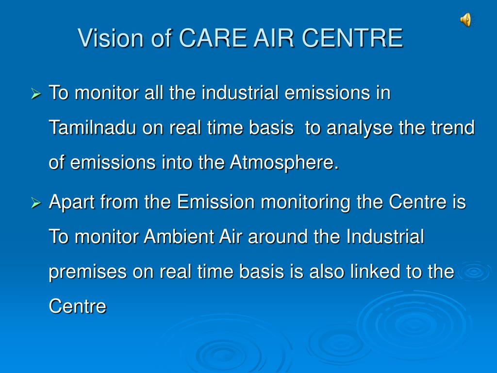 Vision of CARE AIR CENTRE