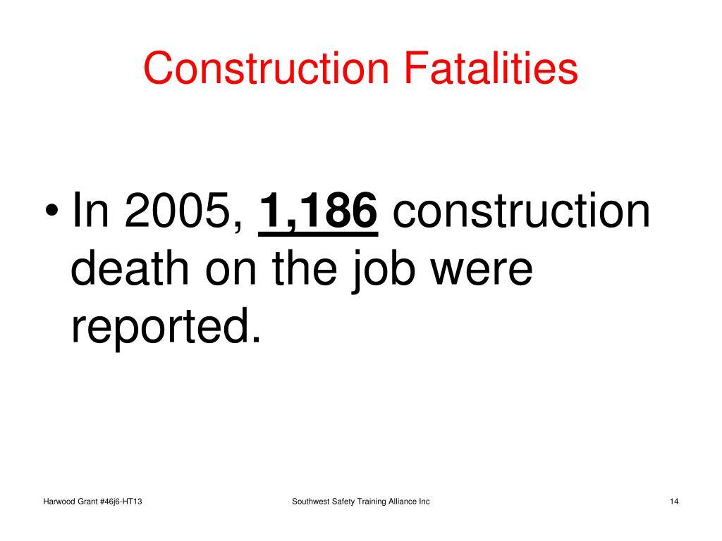 Construction Fatalities