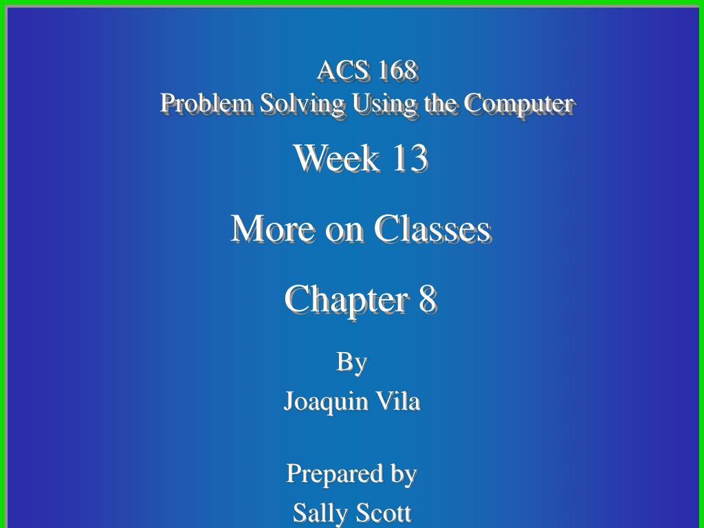 ACS 168