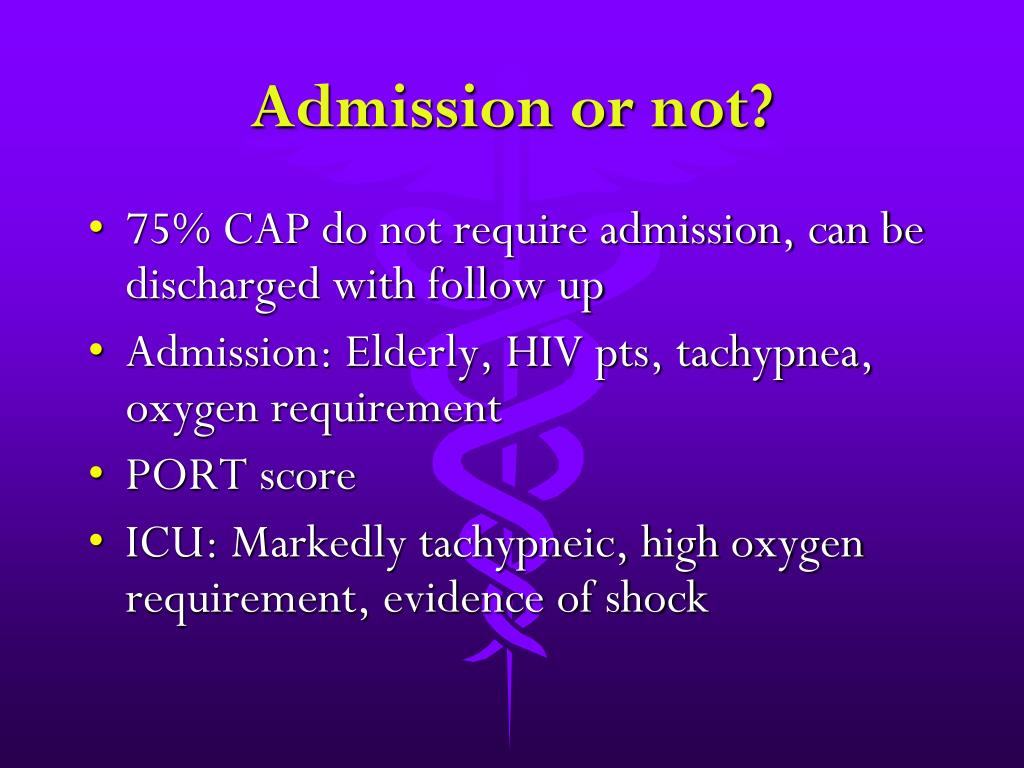 Admission or not?