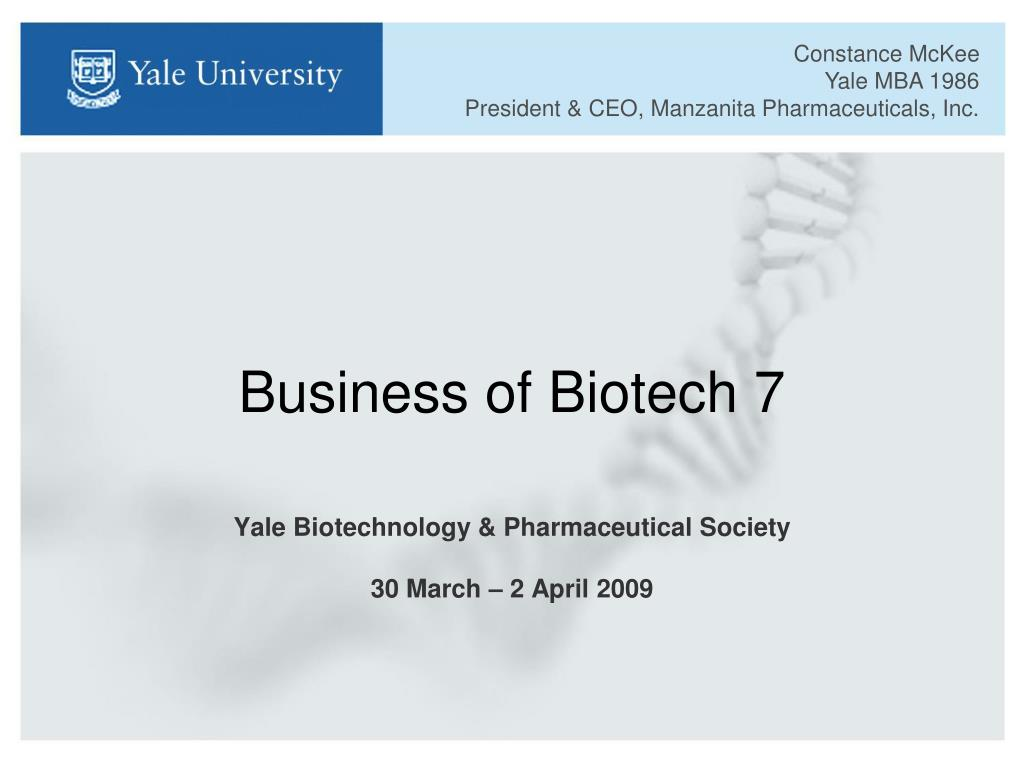 business of biotech 7