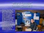 diver s assistant by alain chartrand