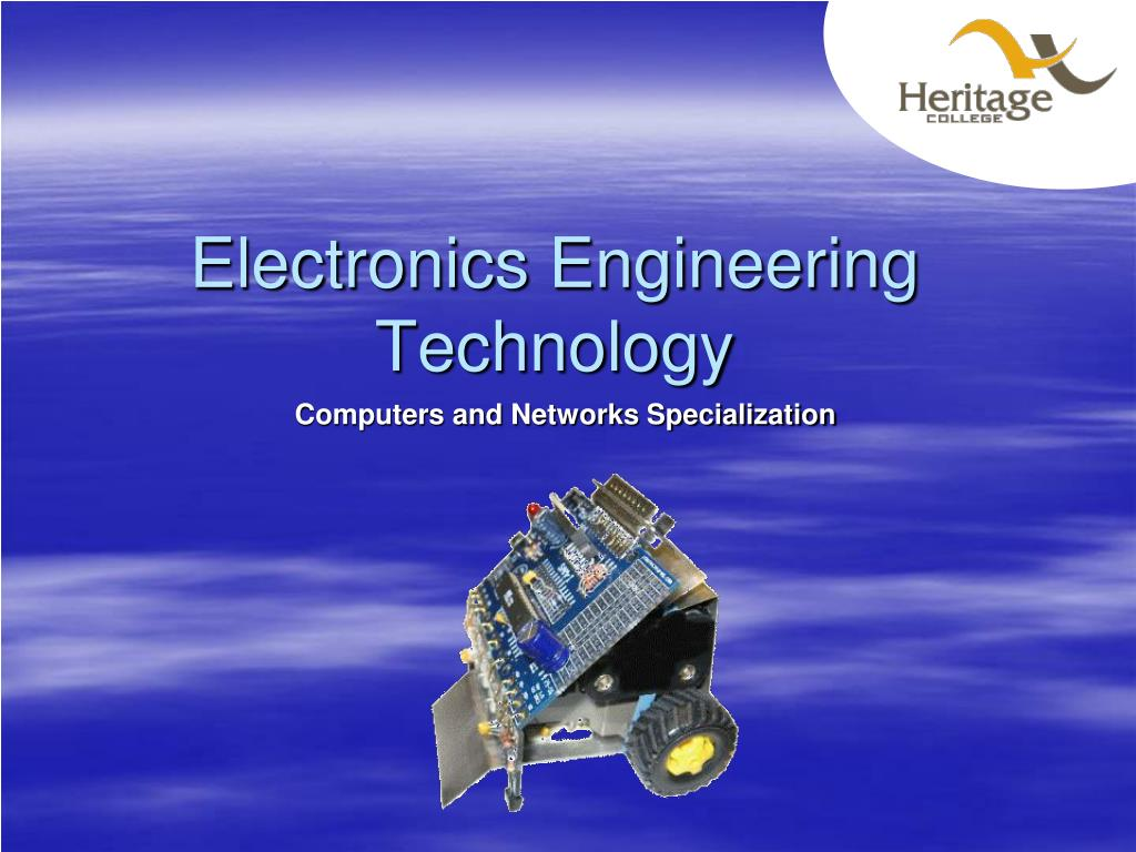 electronics engineering technology l.