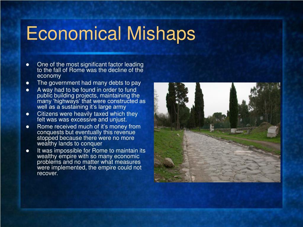 Economical Mishaps
