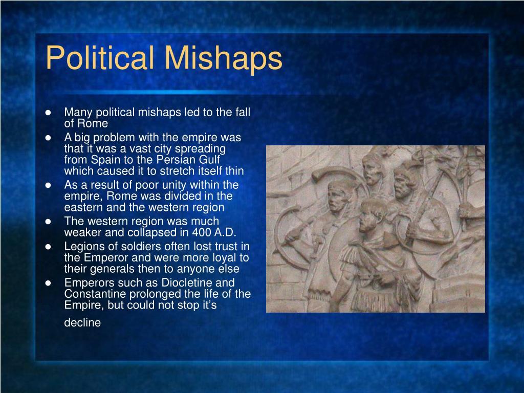 Political Mishaps