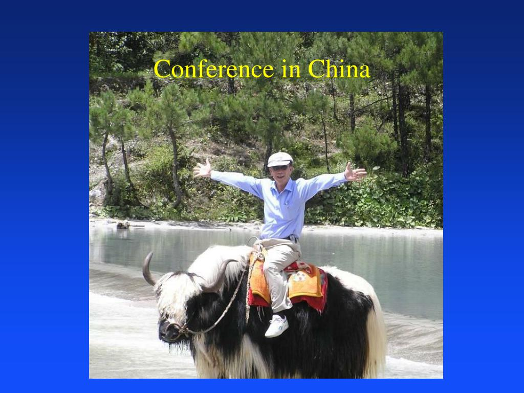 Conference in China