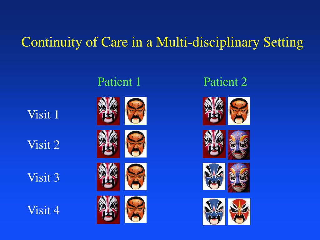 Continuity of Care in a Multi-disciplinary Setting