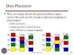 data placement1