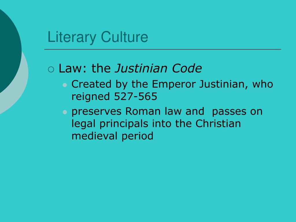 Literary Culture