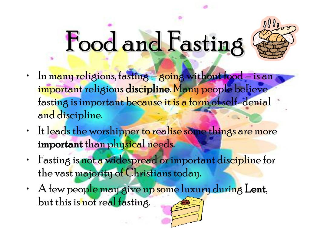 Food and Fasting