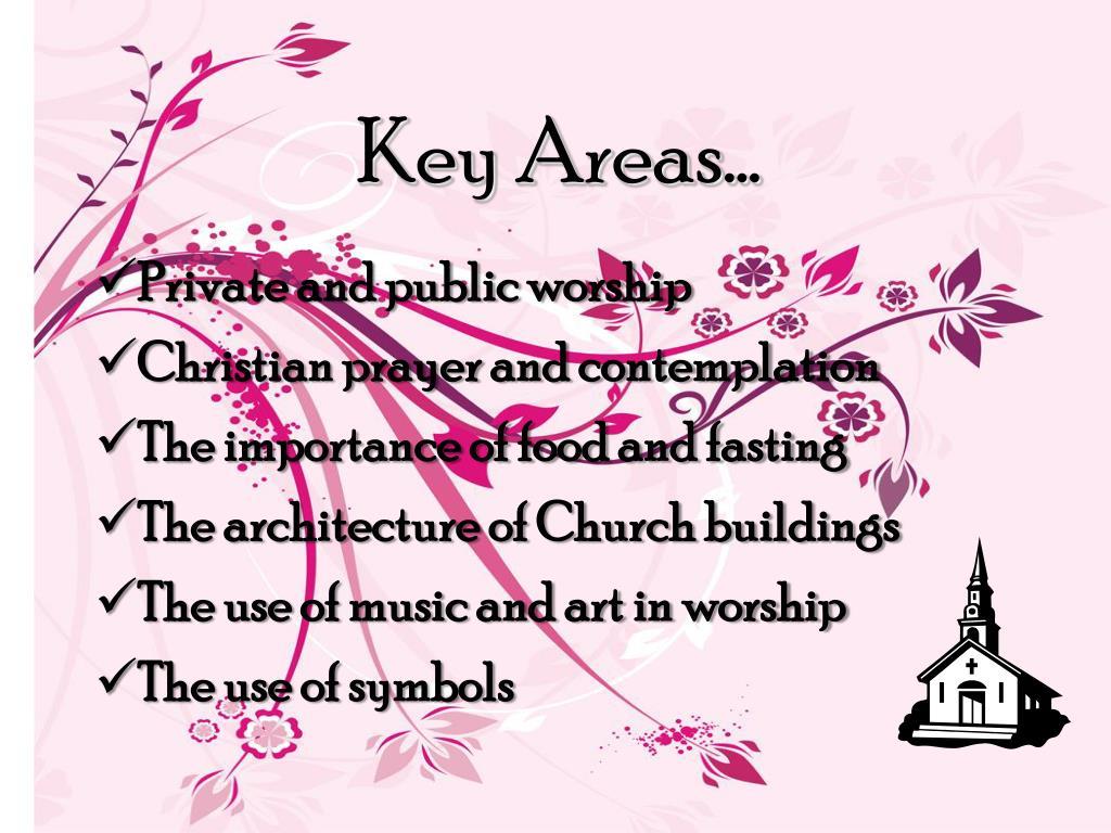 Key Areas…
