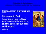 gathering of god s people reflection on divisions and prayer for god s help