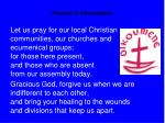 prayers of intercession19