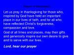 prayers of intercession25