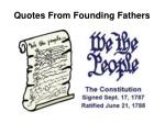 quotes from founding fathers