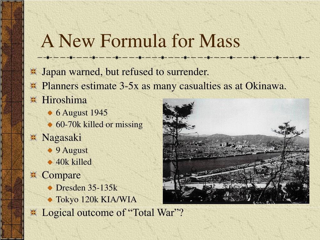A New Formula for Mass