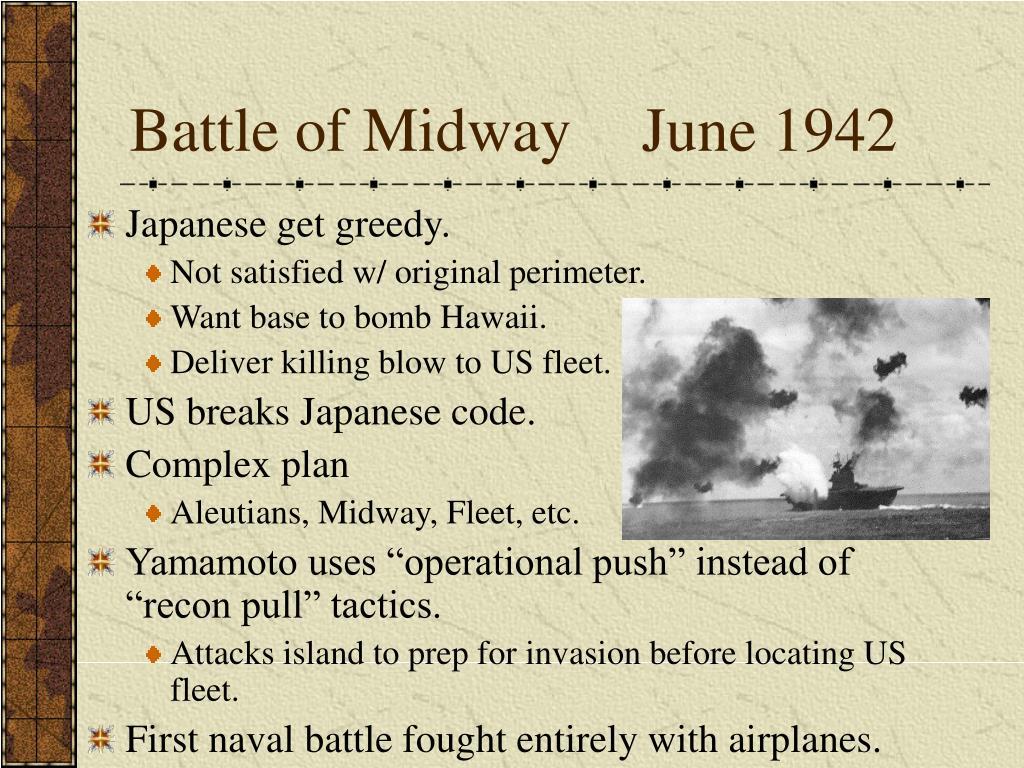 Battle of MidwayJune 1942