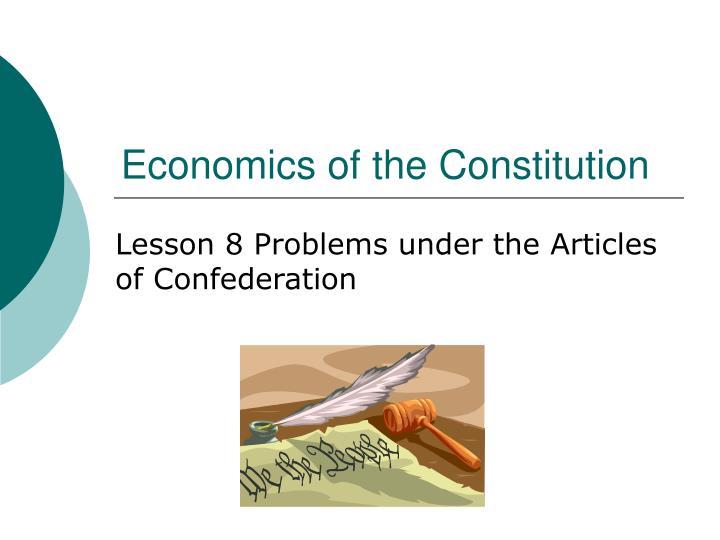 Economics of the constitution3