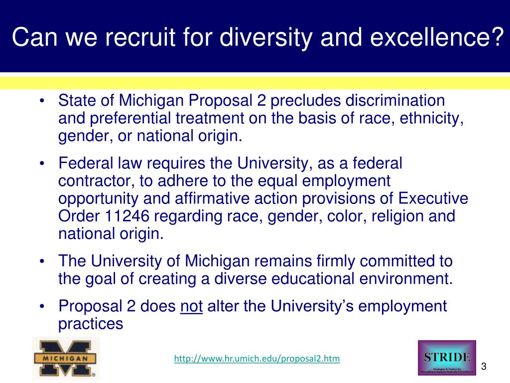 Can we recruit for diversity and excellence?