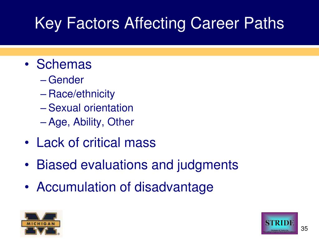 Key Factors Affecting Career Paths
