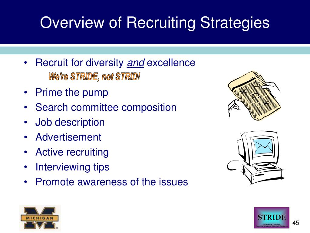 Overview of Recruiting Strategies