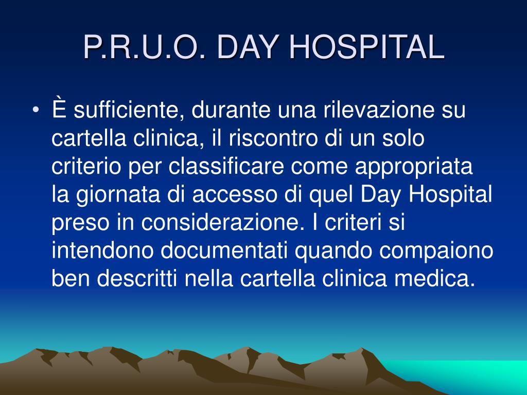 P.R.U.O. DAY HOSPITAL