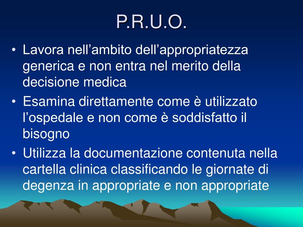 P.R.U.O.