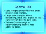 gamma risk
