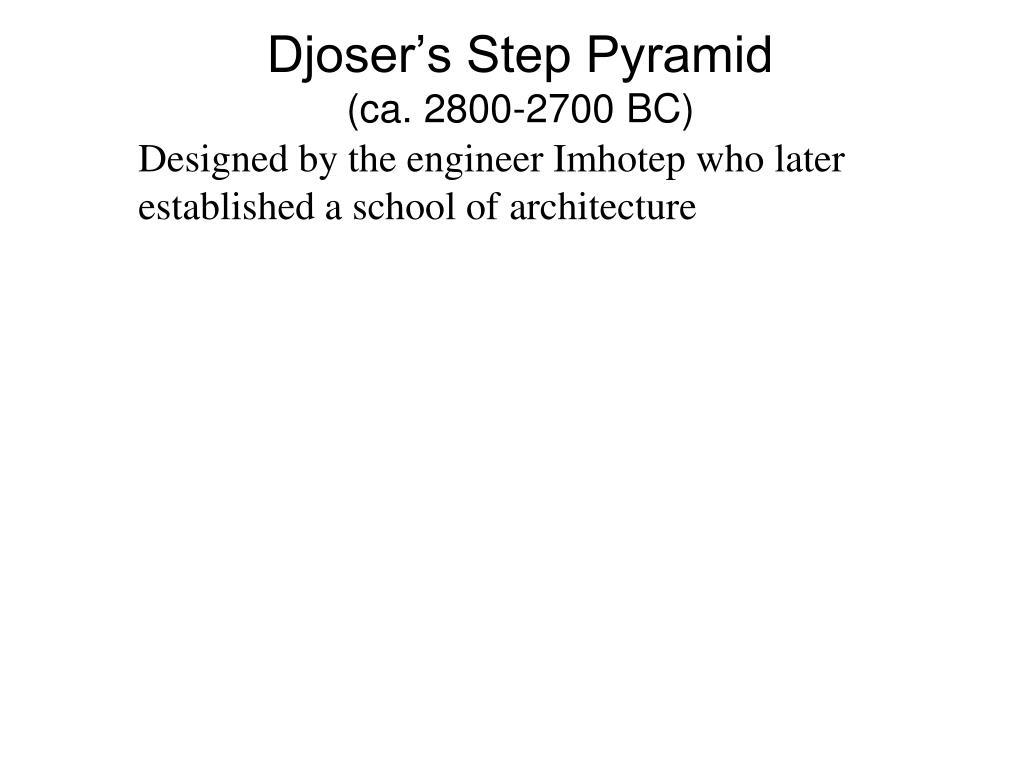 Djoser's Step Pyramid