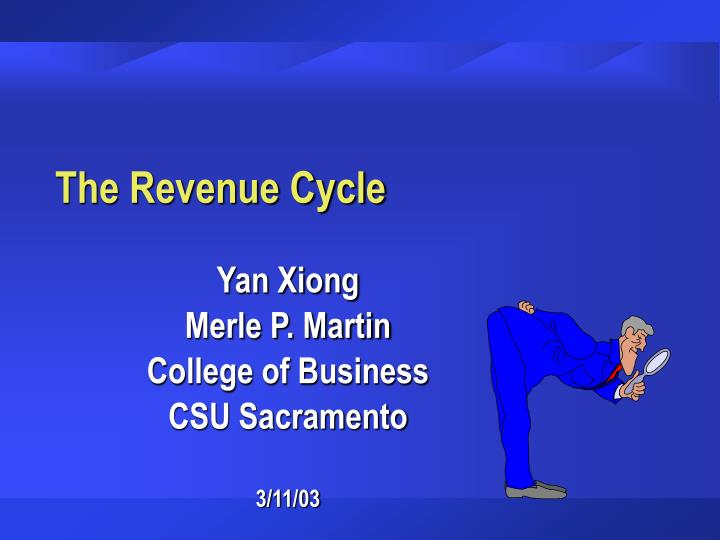 the revenue cycle n.