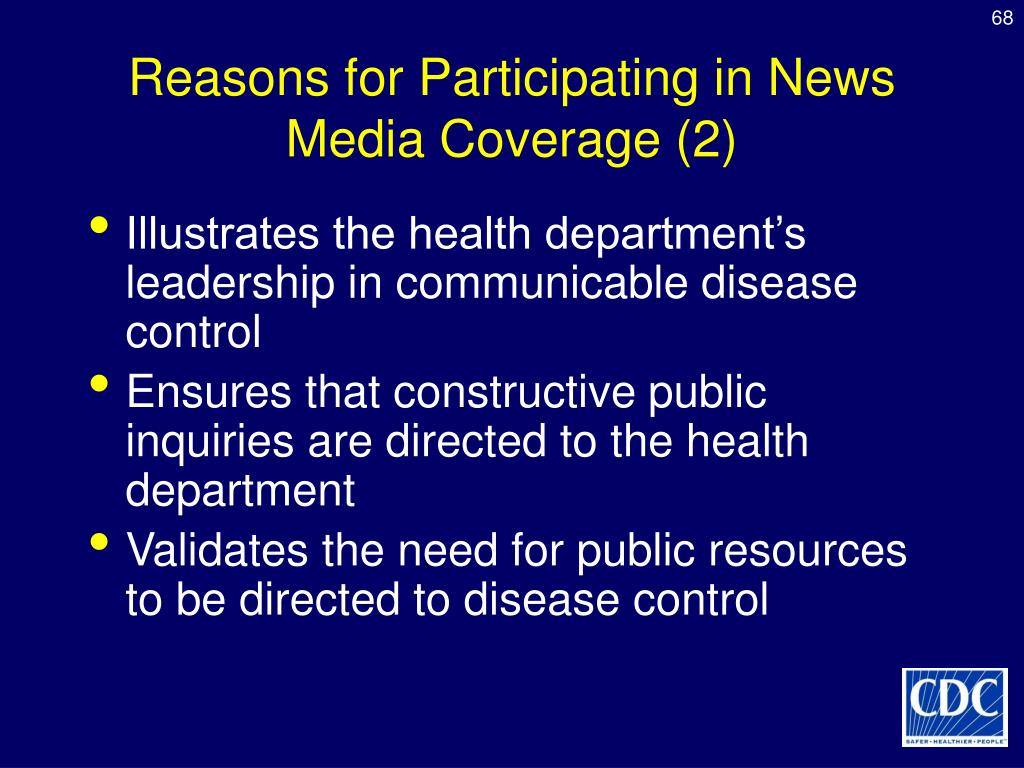 Reasons for Participating in News Media Coverage (2)