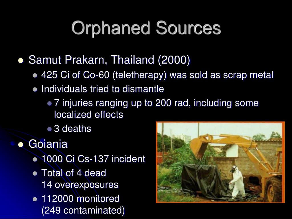 Orphaned Sources