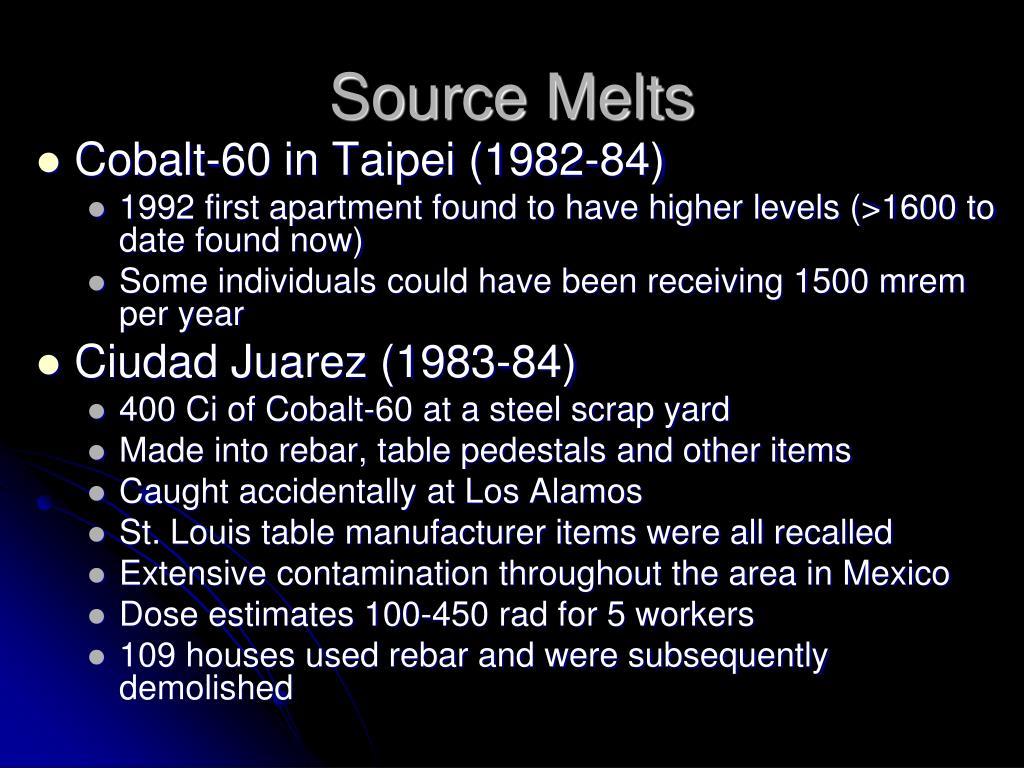 Source Melts