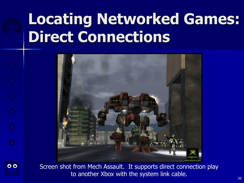 Locating Networked Games: