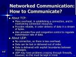 networked communication how to communicate51