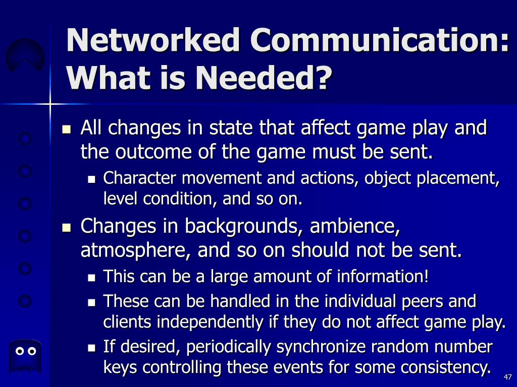 Networked Communication: