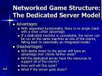 networked game structure the dedicated server model15