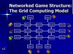 networked game structure the grid computing model