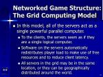 networked game structure the grid computing model24