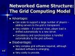 networked game structure the grid computing model25