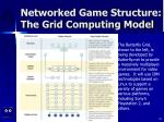 networked game structure the grid computing model26