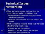 technical issues networking2