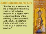 adult education for life