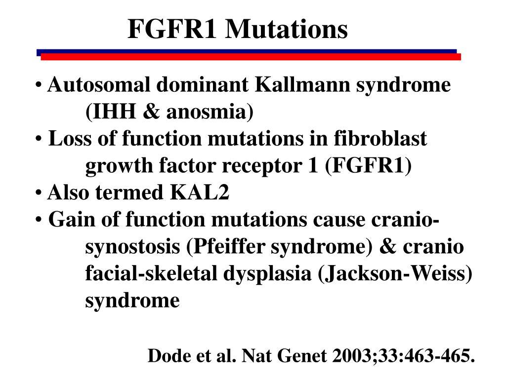 FGFR1 Mutations