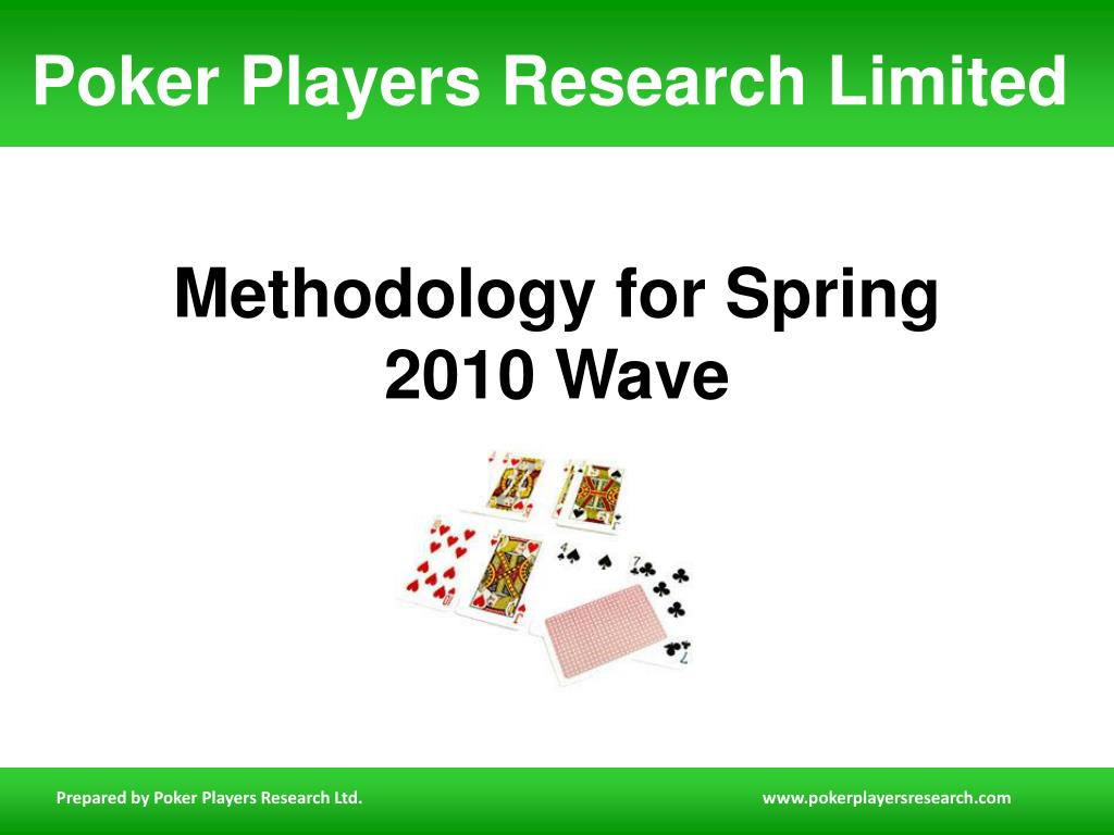 methodology for spring 2010 wave l.