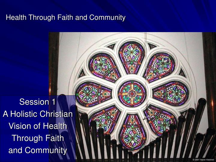 Health through faith and community3