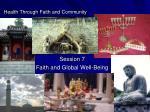 health through faith and community91