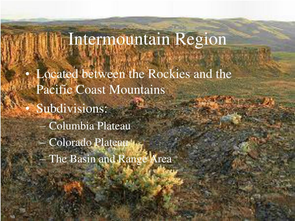 Intermountain Region