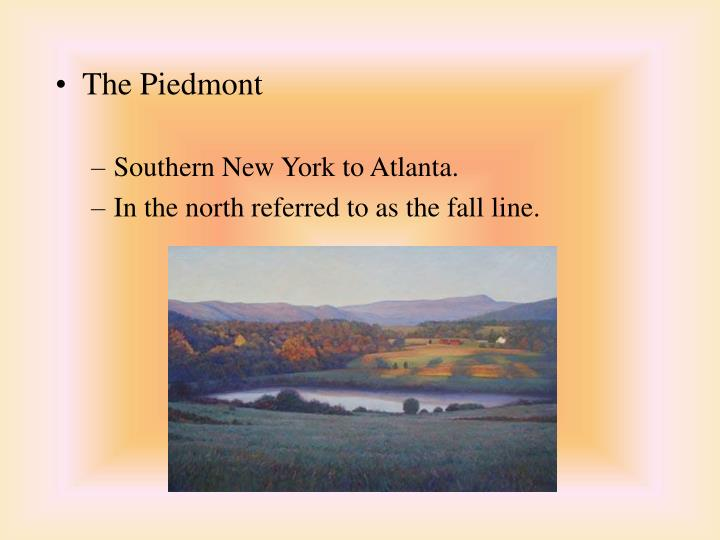 The Piedmont