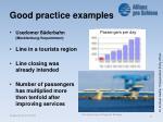 good practice examples17